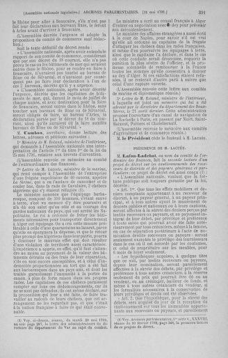 Tome 44 : Du 22 mai au 8 juin 1792 - page 391