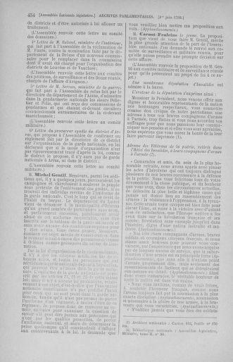 Tome 44 : Du 22 mai au 8 juin 1792 - page 454