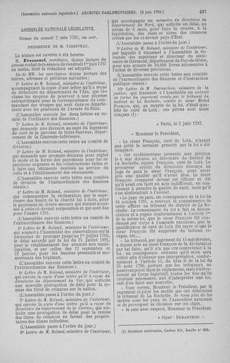 Tome 44 : Du 22 mai au 8 juin 1792 - page 487