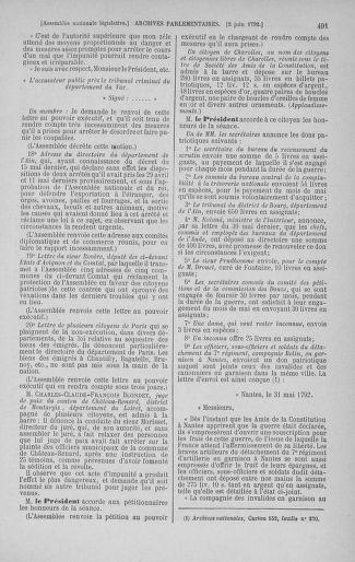 Tome 44 : Du 22 mai au 8 juin 1792 - page 491