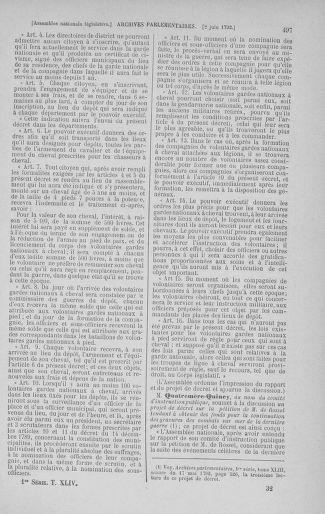 Tome 44 : Du 22 mai au 8 juin 1792 - page 497