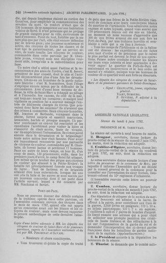 Tome 44 : Du 22 mai au 8 juin 1792 - page 540