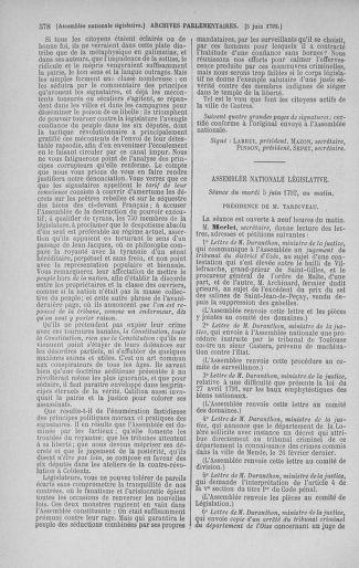 Tome 44 : Du 22 mai au 8 juin 1792 - page 578