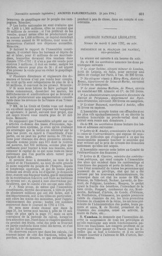 Tome 44 : Du 22 mai au 8 juin 1792 - page 661