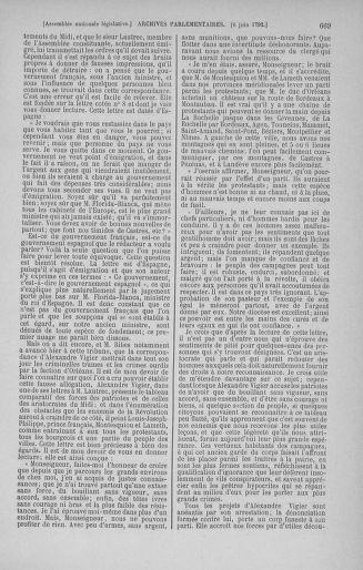 Tome 44 : Du 22 mai au 8 juin 1792 - page 669