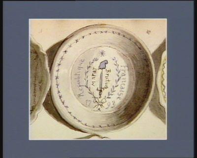 Marat Brutus Republique française : 1793 : [dessin]