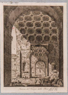 Basilica di Costantino, vista dagli archi di comunicazione