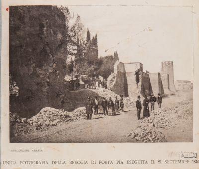 Mura Salario-Nomentane, la breccia di Porta Pia