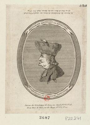 Aristocrate maudissant la révolution Aristocrate croyant a la contre-révolution : [estampe]