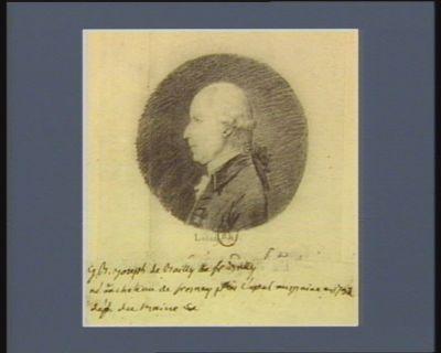 J.B. Joseph de Bailly de Fresnay né au château de Fresnay près Laval au Maine en 1732 député du Maine : [dessin]