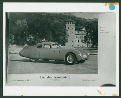 Cisitalia 202 SMM Nuvolari (1948) Salon July 1988
