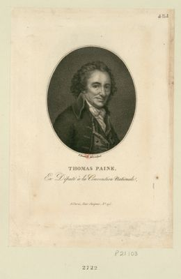 Thomas Paine ex député à la Convention nationale : [estampe]