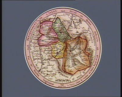 Departement de l'Isere divisé en quatre districts : [estampe]
