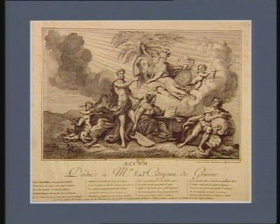 Eccum... dédié a Mrs S. et T. citoyens de Genève sages républicains vous qui pour la patrie.. . : [estampe]