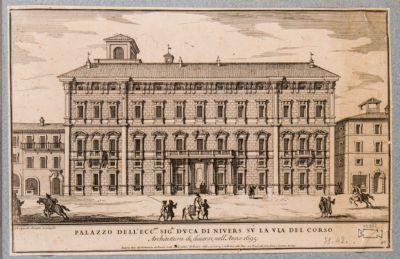 Palazzo Salviati, prospetto