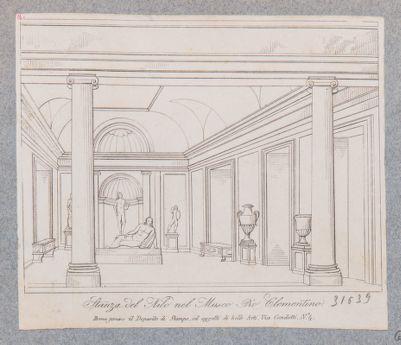 Museo Vaticano. Museo Pio Clementino, sala del Nilo