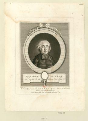 Jean Marie Felix Mayet député de la sénéch.sée de Lyon : [estampe]