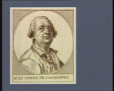 M. le comte de Cagliostro [estampe]
