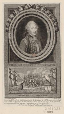 Charles Henri c.te d'Estaing Prise de la Grenade : [estampe]