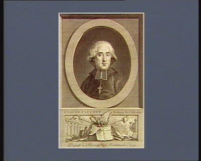 Claude Fauchet evêque du Calvados député à l'Assemblée nationale, 1791 : [estampe]