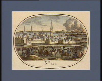 N.o 122 25 nivose an 3 (14 janvier 1795). Passage du Vahal par les troupes françaises... : [estampe]