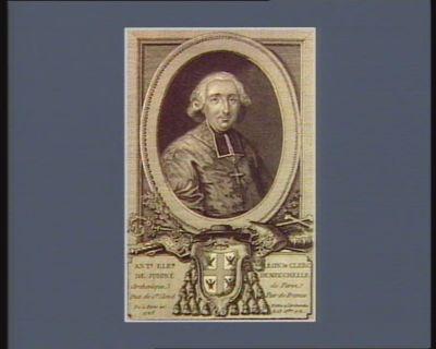 Ant.e Ele.r Leon le Clerc de Juigné Deneuchelle archevêque de Paris, duc de St Cloud, pair de France. Né à Paris en 1728. Nome a l'archeveché le 23 xbre 1781 : [estampe]