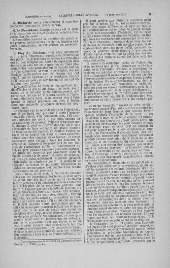 Tome 22 : Du 3 janvier au 5 février 1791 - page 9