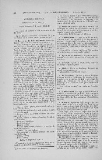Tome 22 : Du 3 janvier au 5 février 1791 - page 52