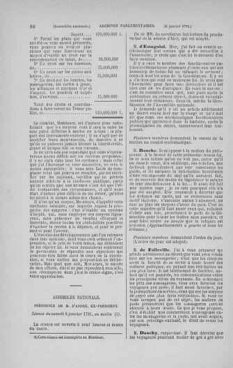Tome 22 : Du 3 janvier au 5 février 1791 - page 80