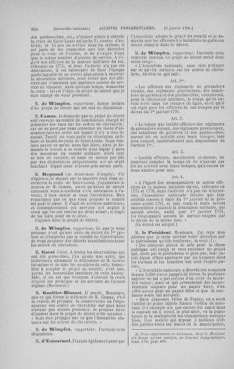 Tome 22 : Du 3 janvier au 5 février 1791 - page 100