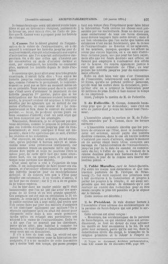 Tome 22 : Du 3 janvier au 5 février 1791 - page 107