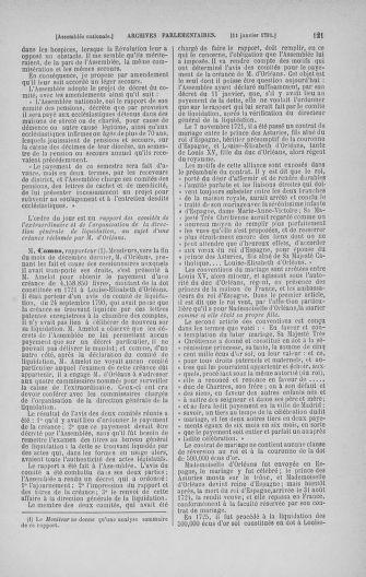Tome 22 : Du 3 janvier au 5 février 1791 - page 121