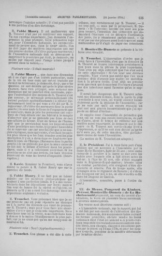 Tome 22 : Du 3 janvier au 5 février 1791 - page 135