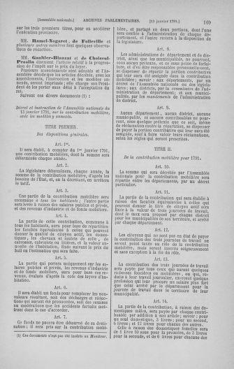 Tome 22 : Du 3 janvier au 5 février 1791 - page 169