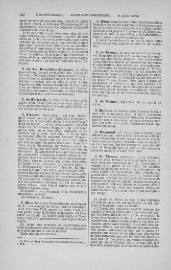 Tome 22 : Du 3 janvier au 5 février 1791 - page 248