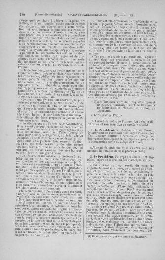 Tome 22 : Du 3 janvier au 5 février 1791 - page 280