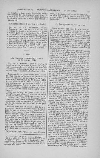 Tome 22 : Du 3 janvier au 5 février 1791 - page 323