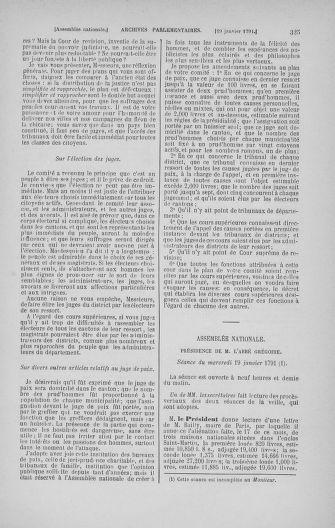 Tome 22 : Du 3 janvier au 5 février 1791 - page 325