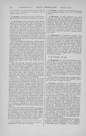 Tome 22 : Du 3 janvier au 5 février 1791 - page 338