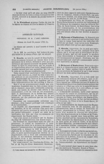 Tome 22 : Du 3 janvier au 5 février 1791 - page 466