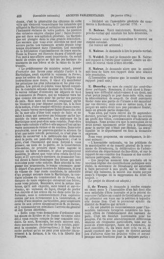 Tome 22 : Du 3 janvier au 5 février 1791 - page 468