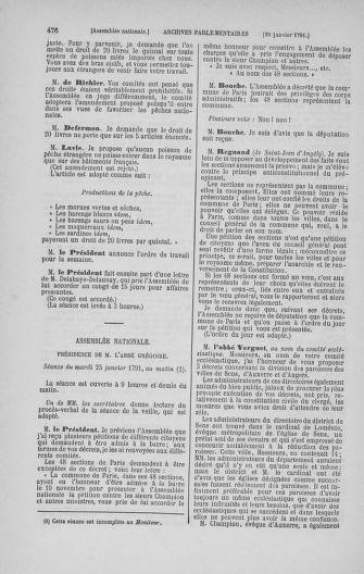 Tome 22 : Du 3 janvier au 5 février 1791 - page 476
