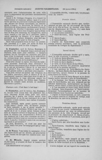 Tome 22 : Du 3 janvier au 5 février 1791 - page 477