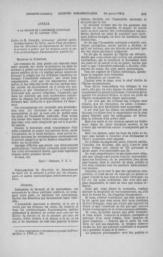 Tome 22 : Du 3 janvier au 5 février 1791 - page 493