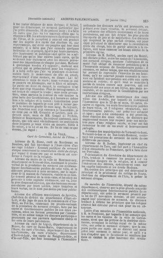 Tome 22 : Du 3 janvier au 5 février 1791 - page 515