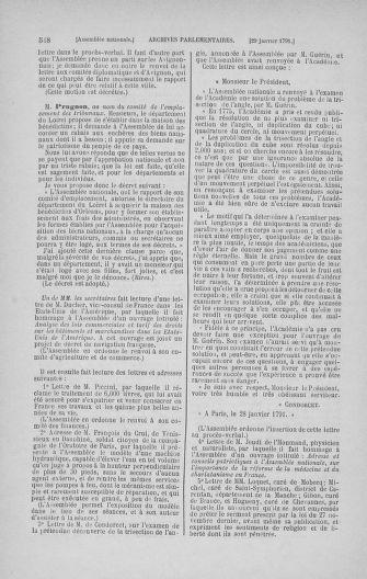Tome 22 : Du 3 janvier au 5 février 1791 - page 548
