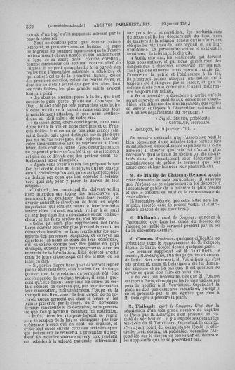 Tome 22 : Du 3 janvier au 5 février 1791 - page 562
