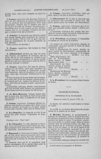 Tome 22 : Du 3 janvier au 5 février 1791 - page 589