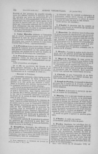 Tome 22 : Du 3 janvier au 5 février 1791 - page 590