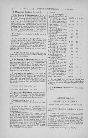 Tome 22 : Du 3 janvier au 5 février 1791 - page 664